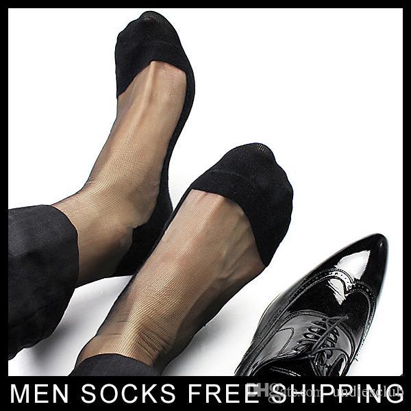 Calzini sexy di seta degli uomini neri dei calzini trasparenti sexy trasparenti del vestito da calza del vestito da calza di Sheer un accoppiamento delle immagini reali