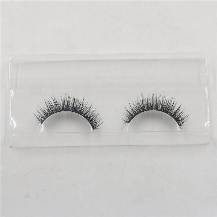False Eyelashes Handmade Natural Long Thick Mink Fur Eyelashes Fake Eye Lash extensions Black Terrier Full Strip Lashes Eye Makeup Free DHL