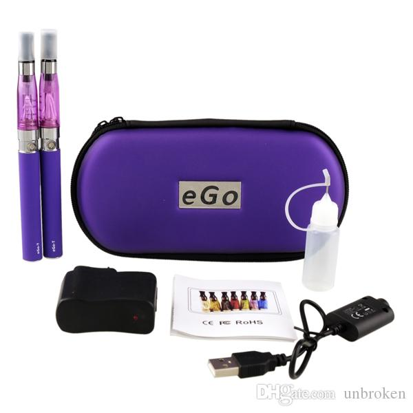 Ego t double starter E-cigarette Ego CE4 starter Kit ecig e cig battery electronic Cigarette ce4 ego t vaporizer in stock