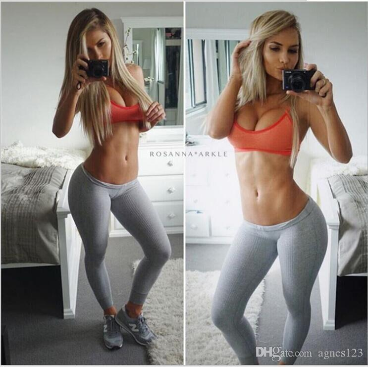 Sexy girl with yoga pants