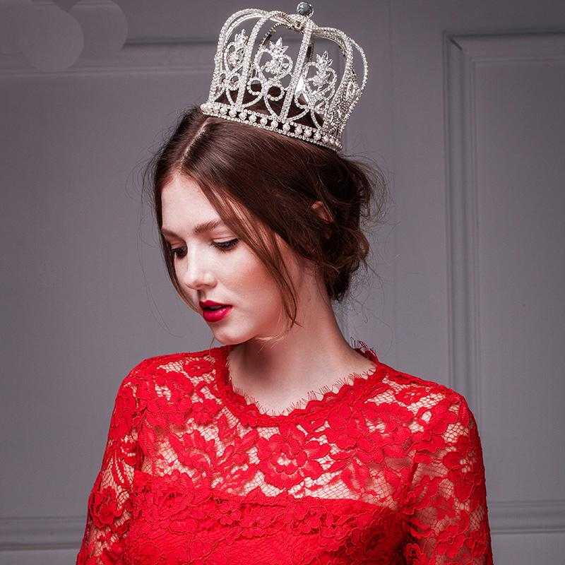 Hairstyles With Crown Queen: Queen Pageant Crown Tiaras & Hair Accessories Princess