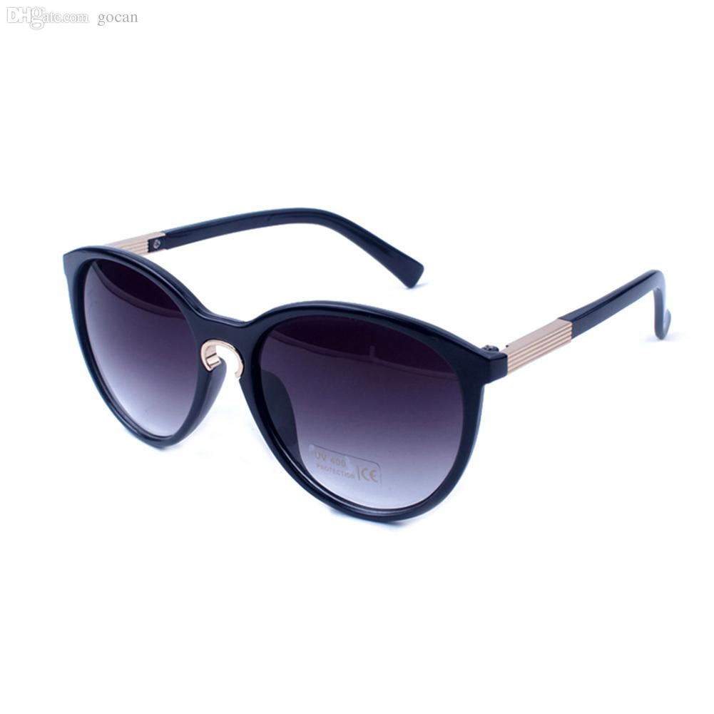473c7945fb190 Wholesale Fashion Girls Plastic Frame Sexy Cat Eye Sunglasses Resin Coating  White Black Female Oculos Glasses Reading Glasses Prescription Sunglasses  From ...