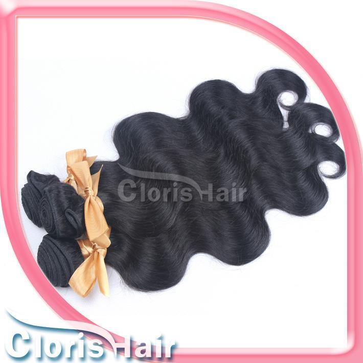 Dyable 2 Bundles 바디 웨이브 브라질 헤어 위브 도매 미가공 Raw Wavy Remi 인간 헤어 익스텐션 판매 Natural Black