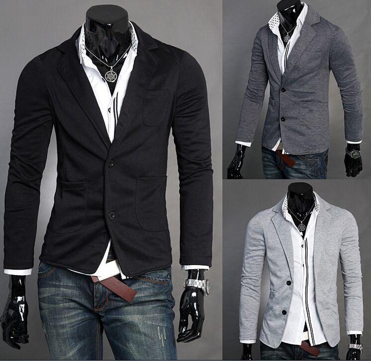 Online Cheap Man Leisure Blazers Men Male 2015 New Arrival Slim ...