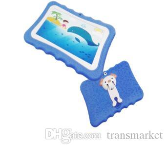 758 Children tablet PC 1G/4G Quad Core 7 inch android 5.1 tablet pc special for kid Hot sale and free dhl Chrismas Gift