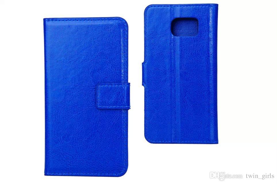 لسامسونج غالاكسي S6 G9200 فليب محفظة جلدية حالة حامل حامل غطاء فتحات بطاقة الحالات الهاتف