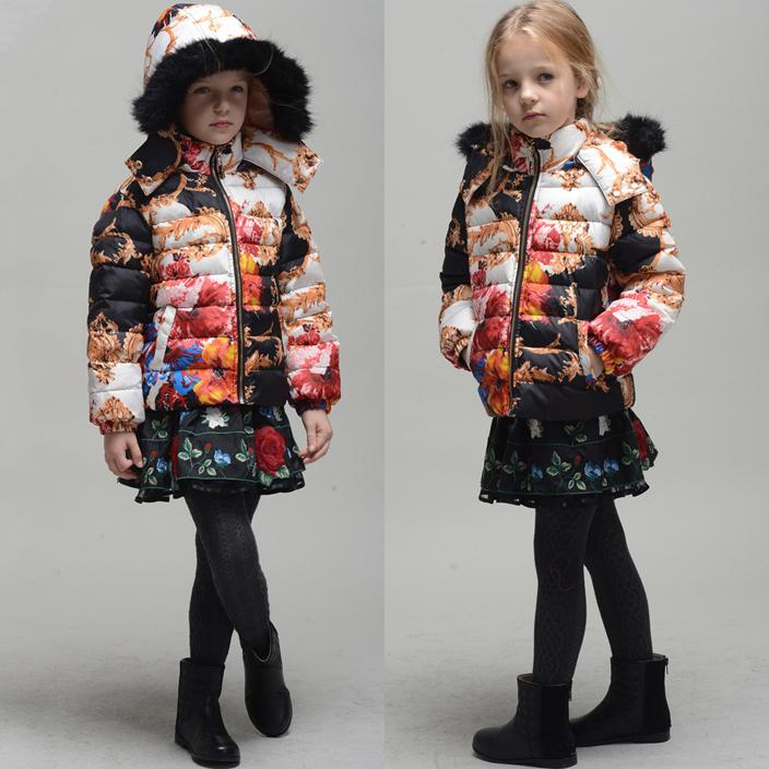New Children Monsoon Down Coat Winter Outwear Girls Down Jackets ...
