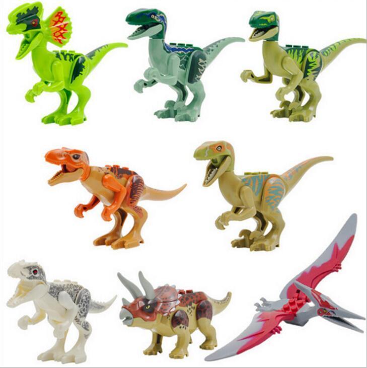 2019 New Jurassic World Jurassic Park 4 Dinosaur Toys
