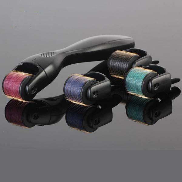 가정용 마이크로 바늘 dermaroller 600 바늘 피부 강화 티타늄 합금 바늘 10 크기 옵션