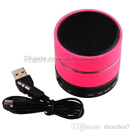 Handfree mini bluetooth speaker with LED Portable wireless super bass Hifi home stereo outdoor amplifier music cheap speaker S09 MIS041