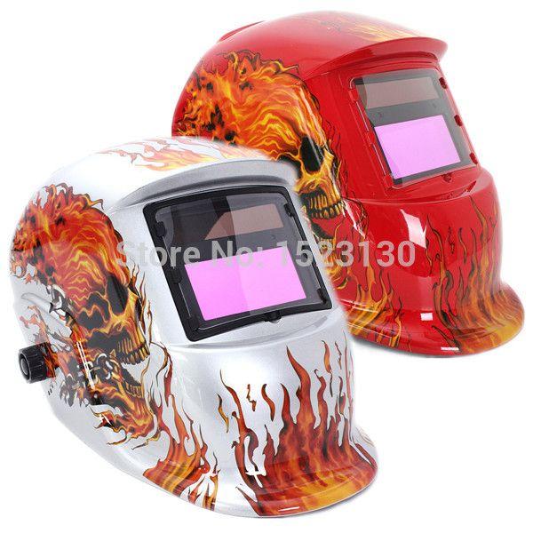 2015 High Quality Solar Auto Darkening Welding Helmet Arc Tig Mig