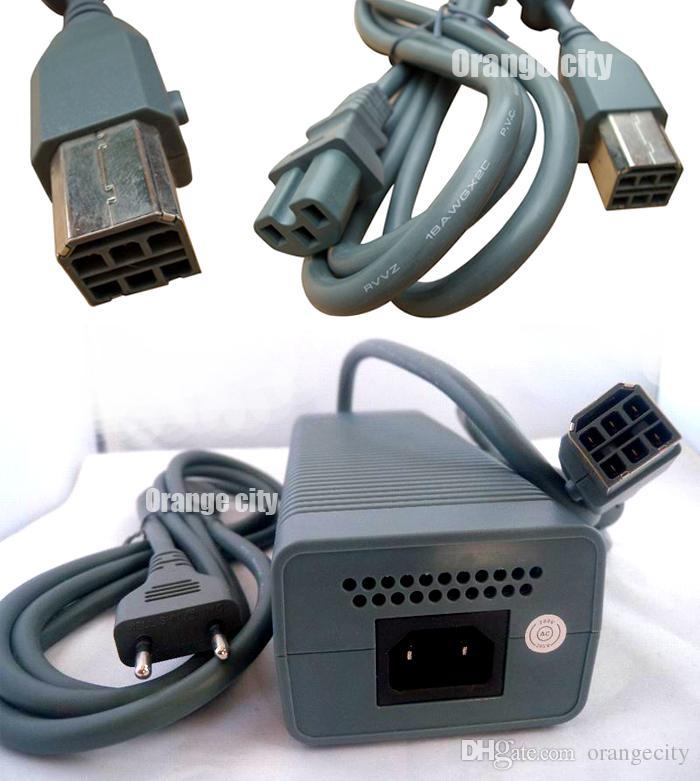 Xbox 360のためのEUプラグ360の脂肪110V 175W AC電源アダプターの供給電力