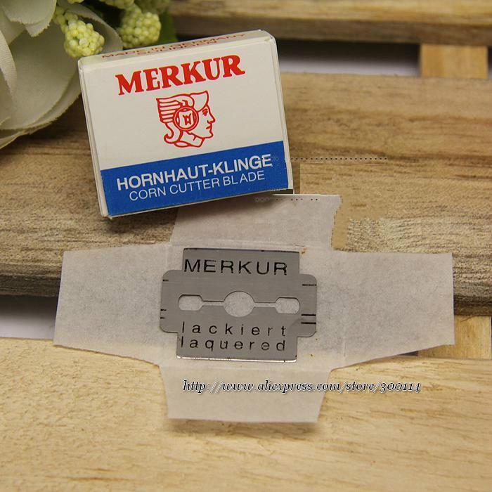 wholesale excellent pedicure tool Corn Cutter Blade for manicure Cutter Blade Merkur Double Edge Razor