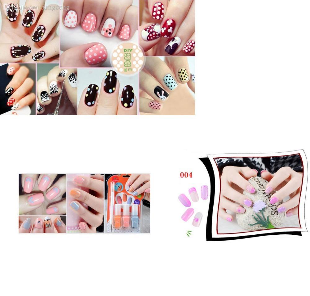 Wholesale New 2015 Fashion Beauty Tools Nail Art Equipment Kits Uv ...