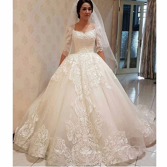 Großhandel Vestido De Novia Plus Size Formale Hochzeit Kleid ...