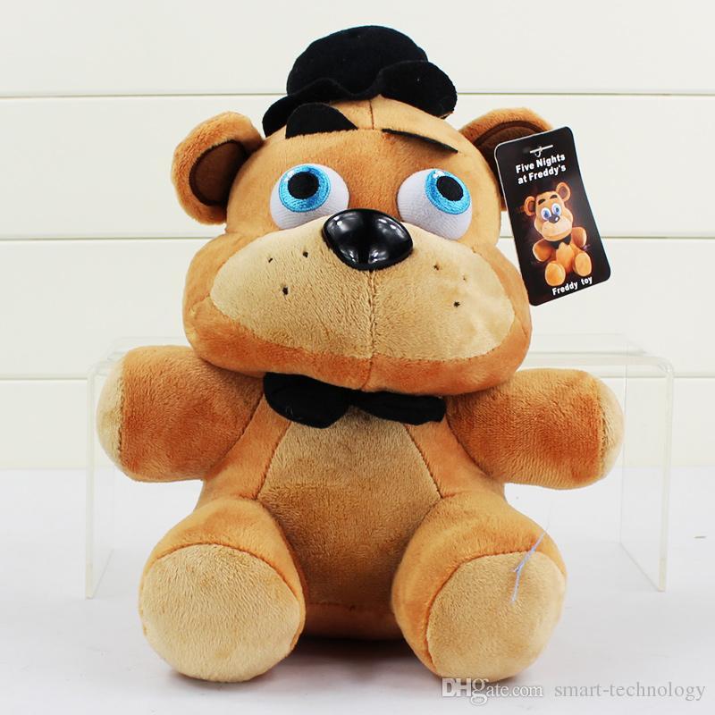 25см Пять ночей на Freddy Fazbear Медведь Бонни Foxy Duck шар Девочка шар мальчик чучела плюшевые куклы игрушки Kid