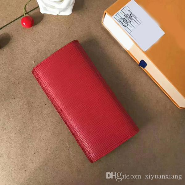 34dfbc9683 New Genuine Leather AAAAA Super V Wallets Backpack Fine Bifold Red Black  Credit Card Cool Tri Fold Wallet Long Wallet Male Wallets Vegan Wallets  From ...