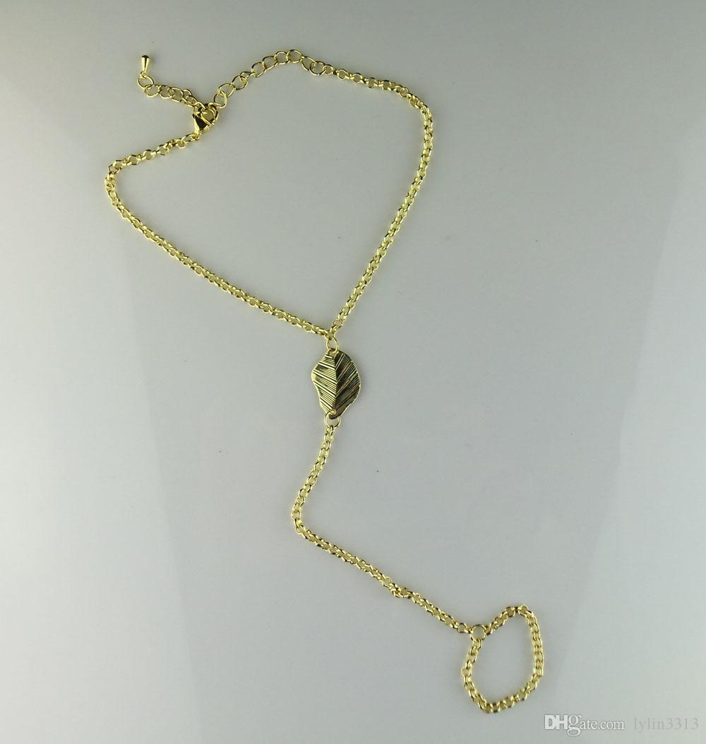 / anklets fot smycken barfota sandaler sträcka o kedjor sandstrand anklet med tå ringar