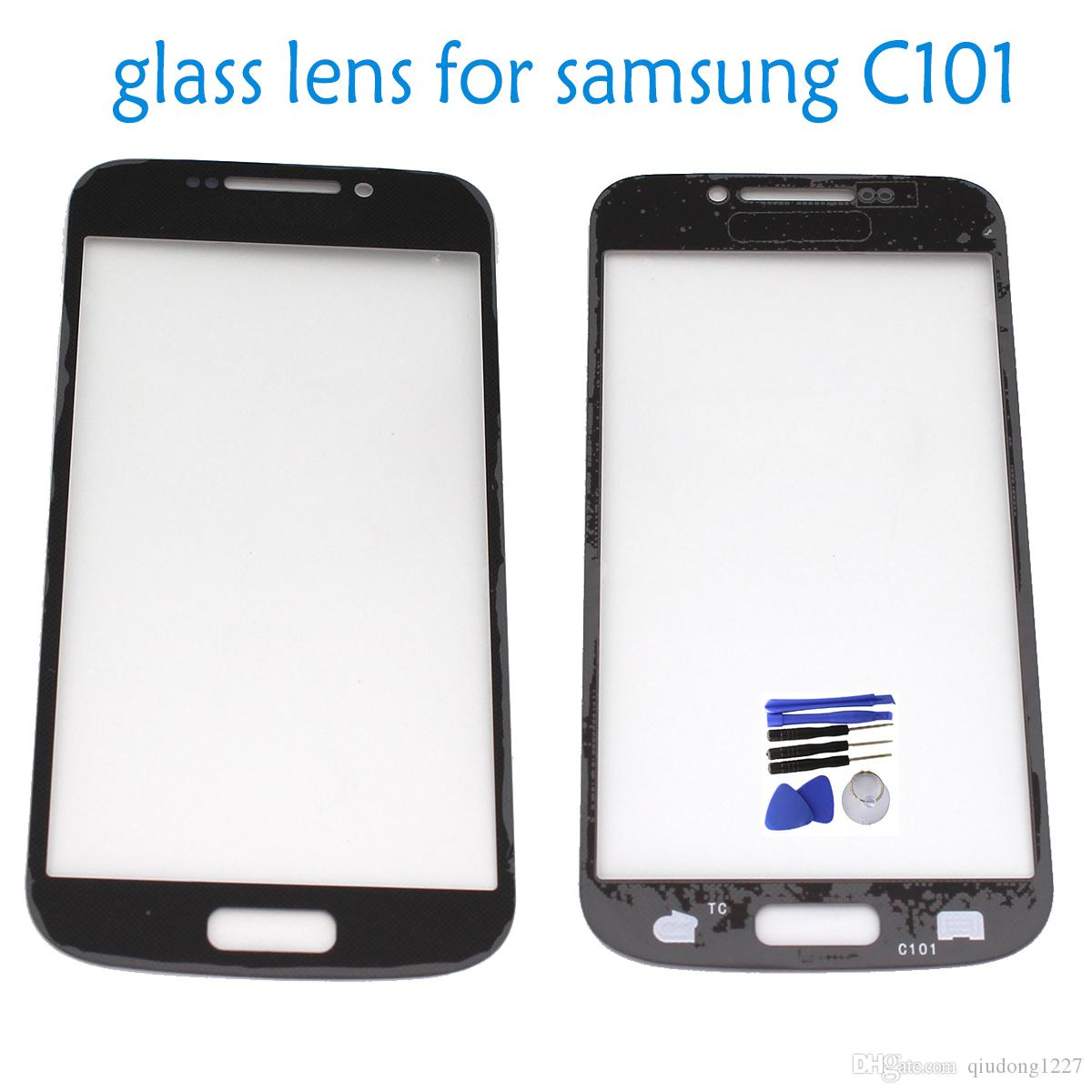 2018 Free Sample Touch Screen Lens Glass Replacement Part Tool Kits Samsung Galaxy S4 Zoom Black For C101 White From Qiudong1227 289