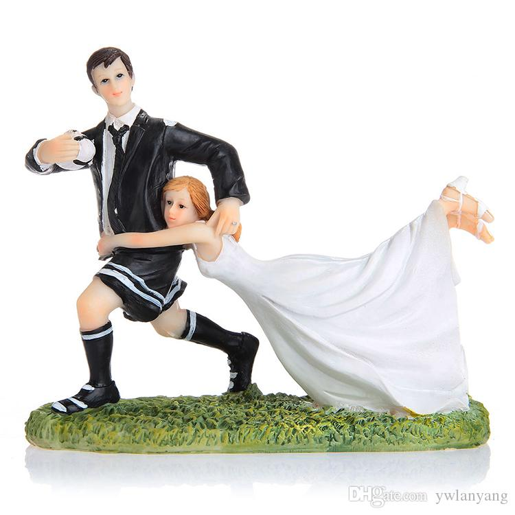 rugby couple wedding cake topper 2017 match football rugby wedding cake topper 19463
