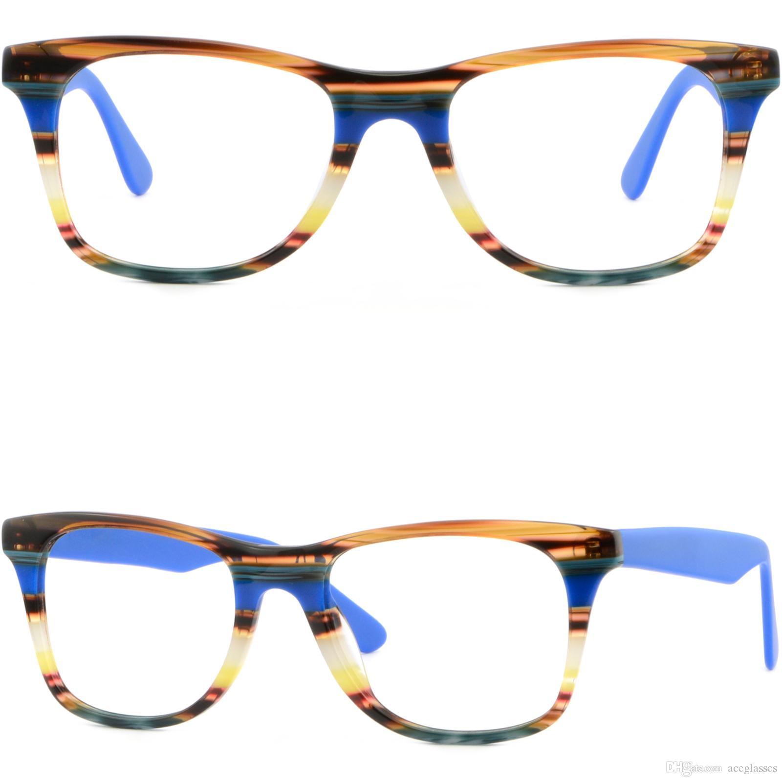 Large Square Men\'S Womens Plastic Frames Prescription Glasses Rx ...