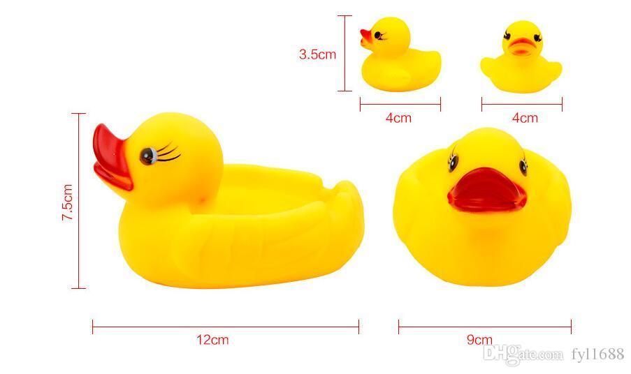Fare una doccia giocattolo anatra gialla Neonati e bambini piccoli spremuti chiamati giocattoli da bagno strada fonte di vendita di giocattoli all'ingrosso segnalare gli acquisti