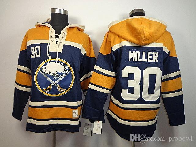 a591498a1 2018 30 Teams Wholesale Cheap 2015 New Old Time Hockey Buffalo Sabres 30  Ryan Miller Sawyer Hooded Sweatshirt