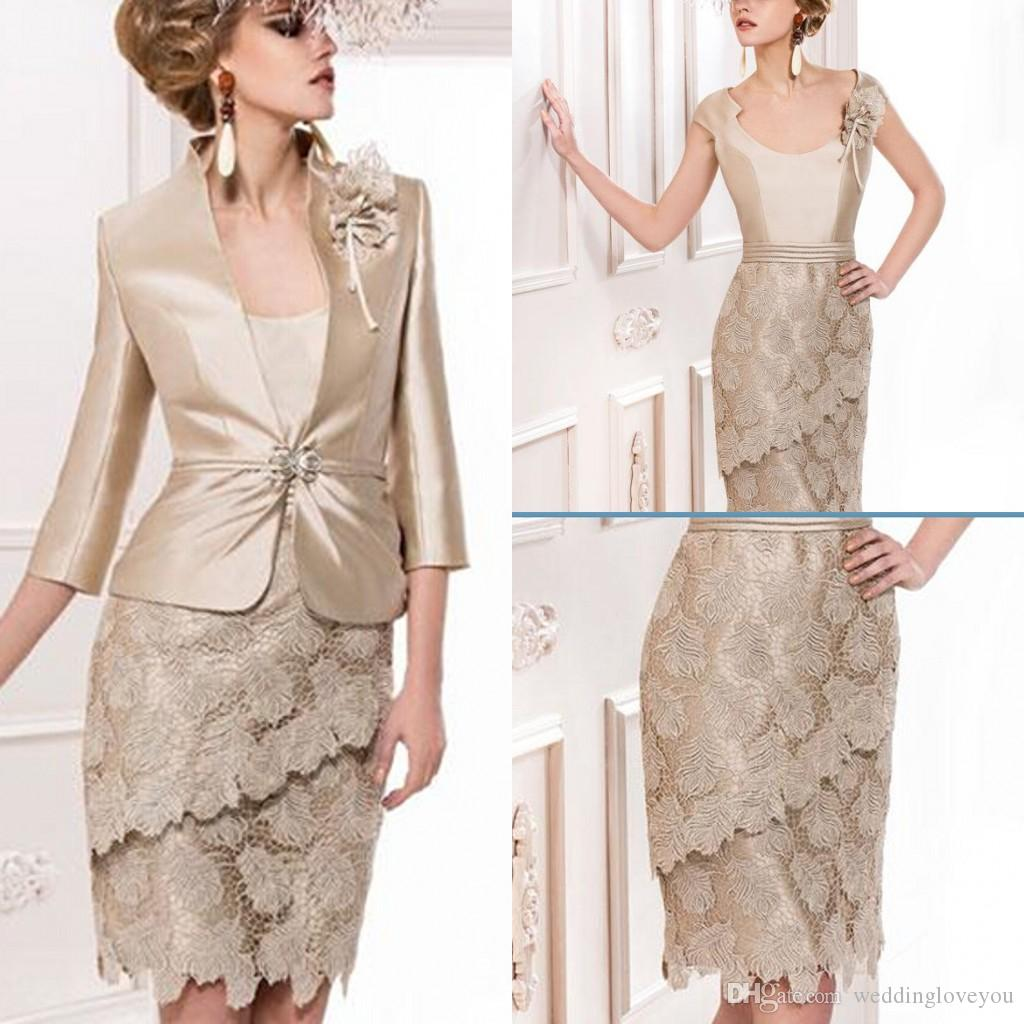 Champagne Colored Dresses Mother Of The Bride