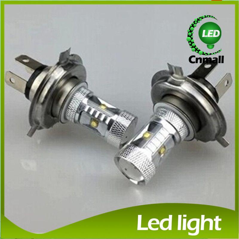 H4 H7 Led Bulb 30W Fog Lights High Power LED Car Light Ultra Bright ...