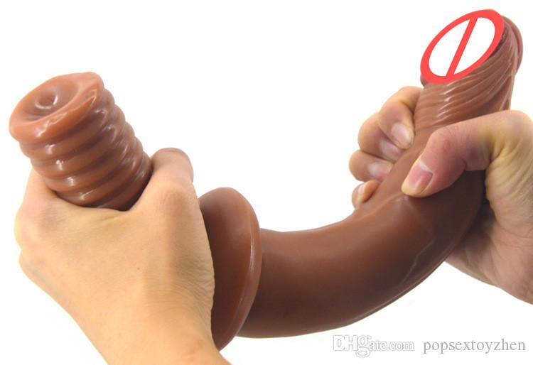 12-inch long realistic penis huge animal horse dildo adult sex toys for women and men gay for butt plug