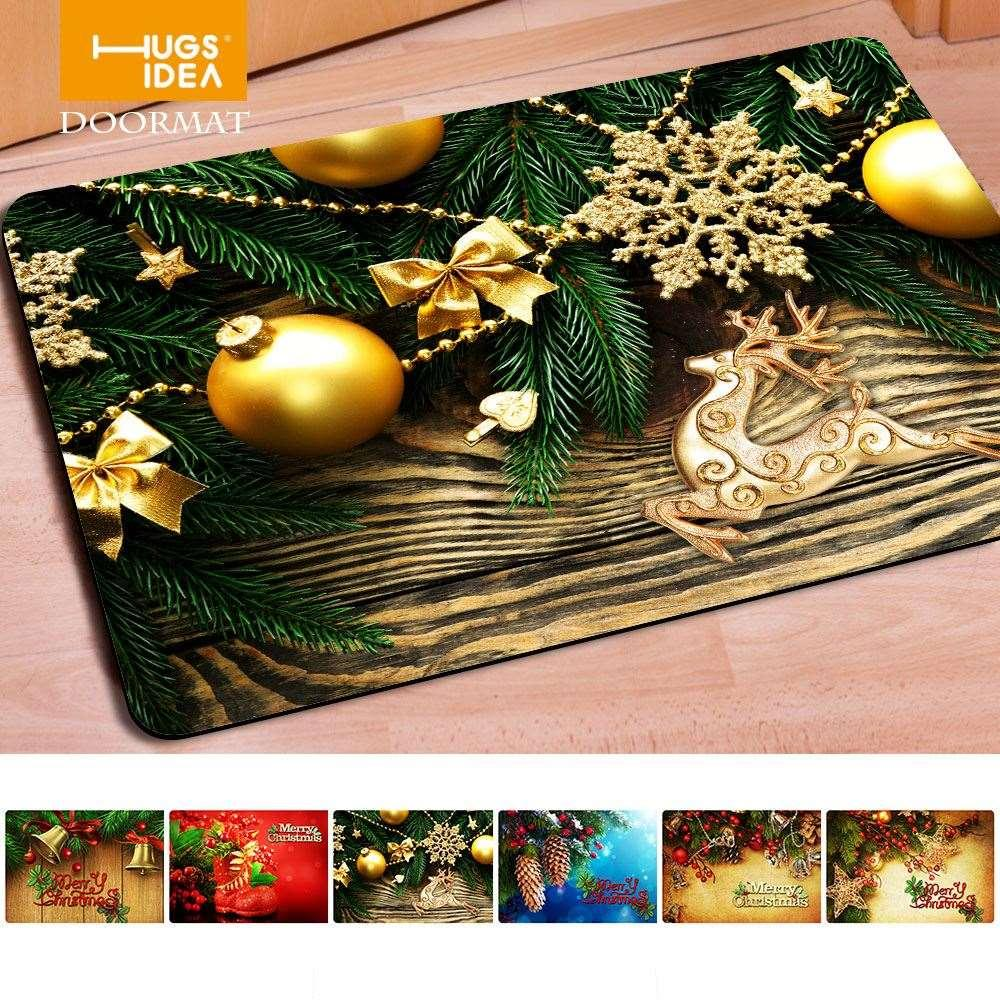 merry christmas words front door mat entrance doormat festival home decoration tapetes for living room footcloth bed room rug commercial grade carpet shaw