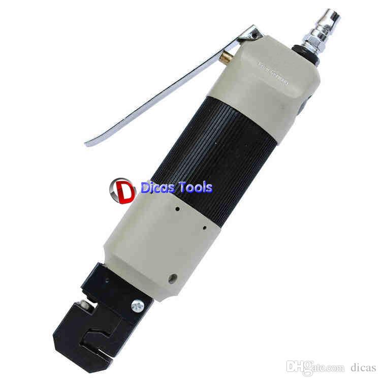 스트레이트 타입 2 in 1 공압 펀처 공기 크림 퍼 펀칭 플랜지 도구 12mm crimping 1.6mm 5mm 피어싱 구멍 가공