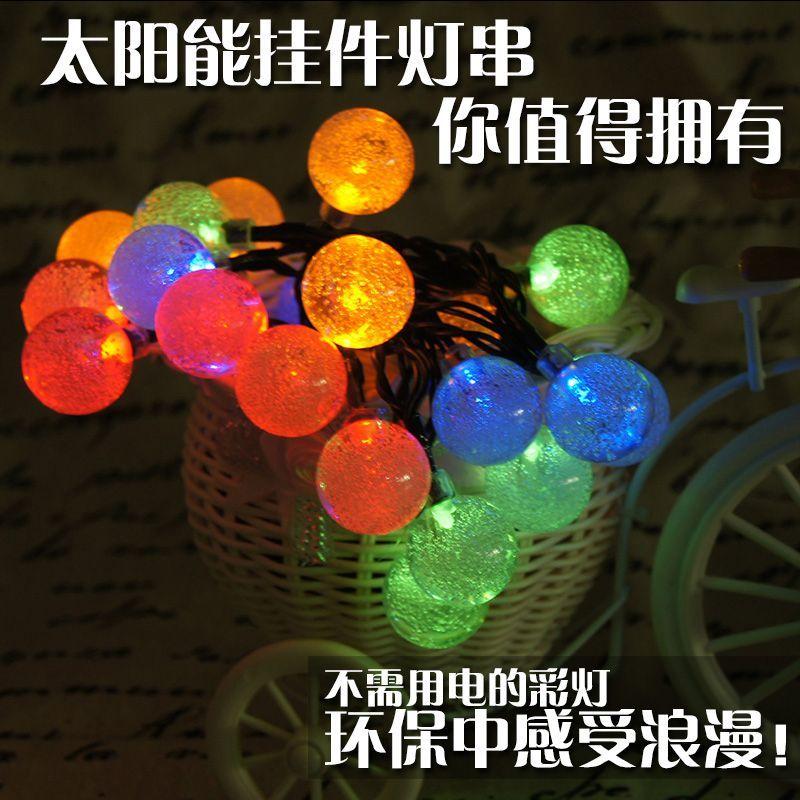 Cheap Yue Lan Led Solar Light String Christmas Lights Garden