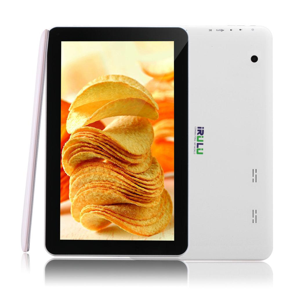 "Hot iRULU 10.1"" Quad Core Android5.1 Tablet PC A33 1024*600 Capacitive 8GB/16GB 1G 10 inch Tablet PC"