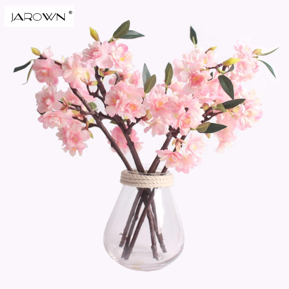 2018 Artificial Silk Flower Mini Cherry Blossom Sakura For Wedding