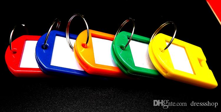 Пластиковый брелок для ключей номерной знак гостиницы классификация карт тег листинг конфеты цвета