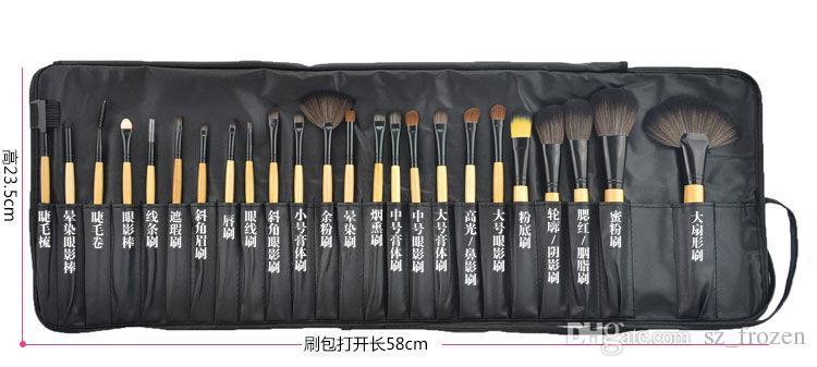 Berufsverfassungs-Bürsten bilden Kosmetikbürsten-Satz-Installationssatz-Werkzeug + rollen oben Fall freies Verschiffen A-0315