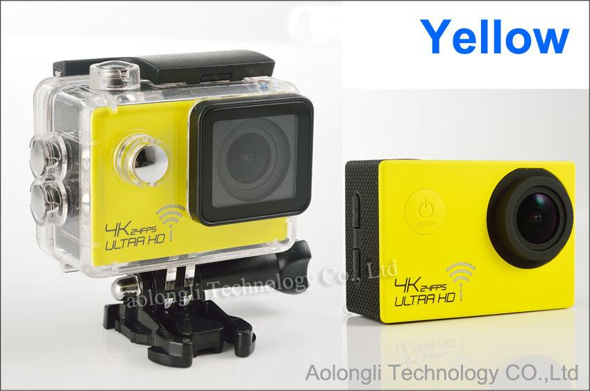 SJ8000 wifi الرياضة كاميرا 1080 وعاء 60fps 16mp ريال hd 4 كيلو 24FPS ماء عمل الكاميرا + سيارة شاحن بطارية 2.0LCD خوذة فيديو dvr