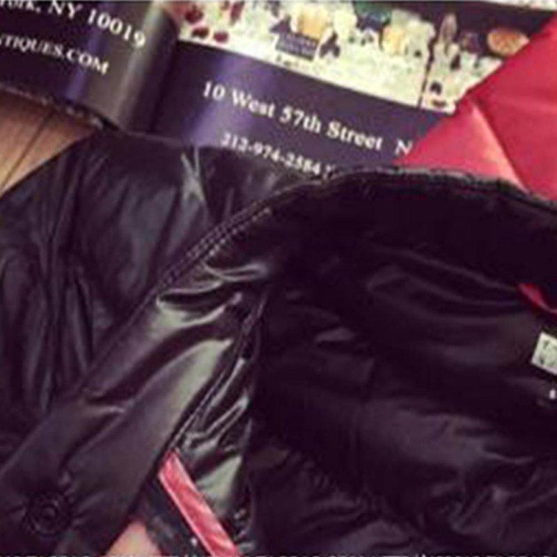Female Down Coat 2017 Fashion Winter Women Thin Short Cultivating Outwear Cotton Padded Warm Jacket Outwear
