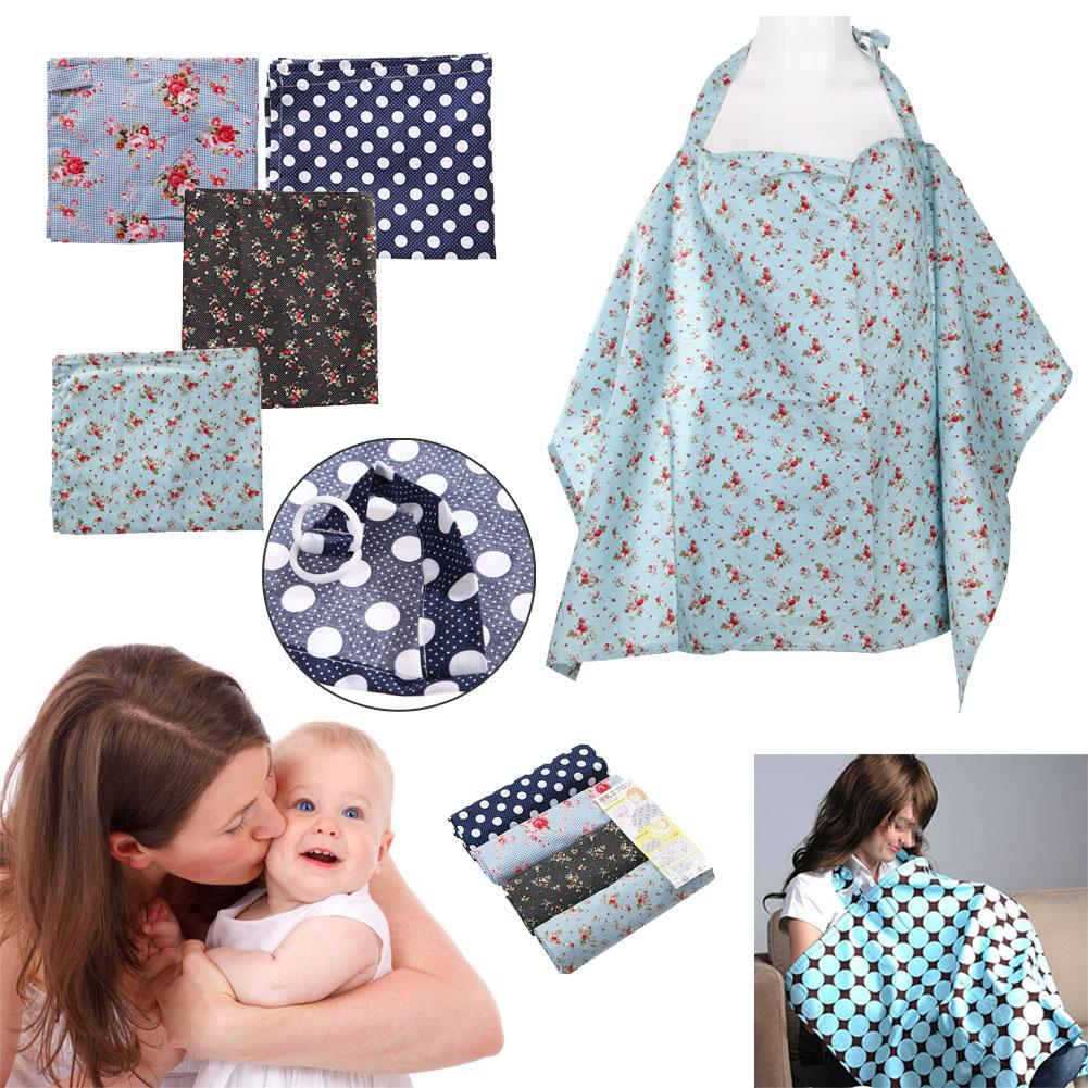 Wholesale- New Cotton Breastfeeding Cover Blanket Flower Fruit Print ...