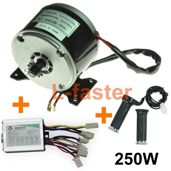 24v 250w Electric Brushed Dc Motor Electric Scooter Diy