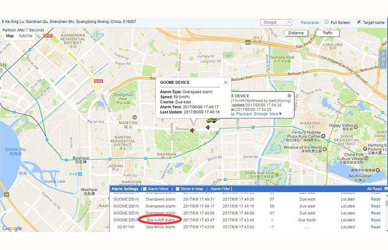 Hopeshine OBD GPS Tracker Mini Auto OBD Car GSM Vehicle Tracking Device Small Plug Play GPS Locator GOOME GM07W