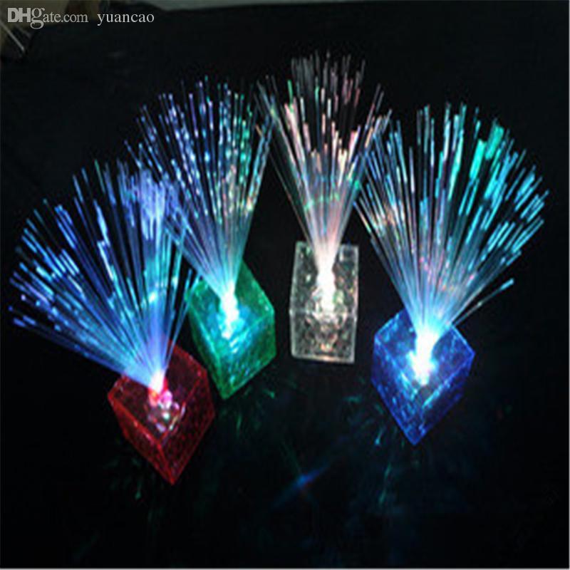 2018 Wholesale Party Color Changing Fiber Optic Sparkle Glow Led