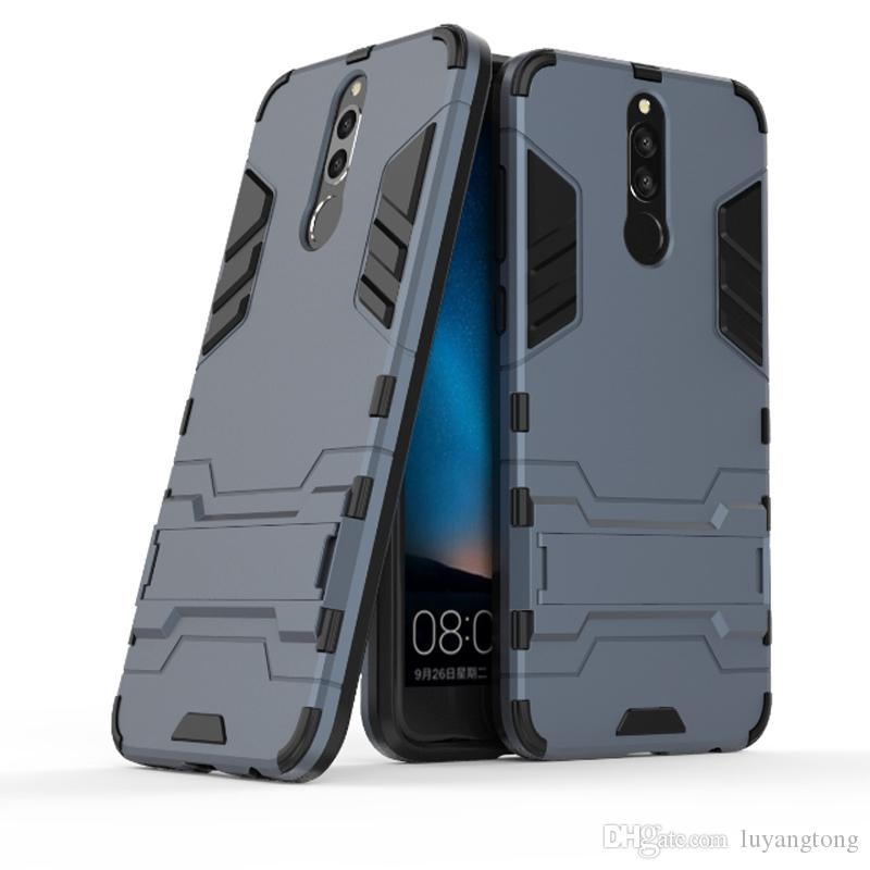 official photos 8867c 074f5 For Huawei Nova 2i Hybrid TPU PC Shockproof anti-knock protector cover Iron  Man Case For Huawei Mate 10 Lite Honor 9i Cover Coque Fundas