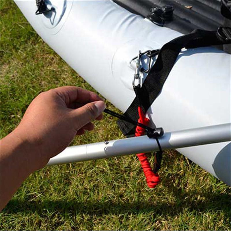 Elastico Kayak Canoa Paddle Leash Tavola da surf Guinzaglio da surf Corda Guinzaglio di sicurezza Canna da pesca Canottaggio