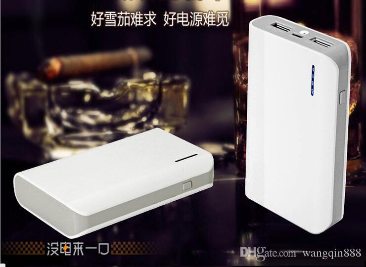 Powerbanks с фонариком 8400mAh смарт мобильный телефон Power Bank Портативный внешний аккумулятор зарядное устройство Power Pack банки зарядные устройства