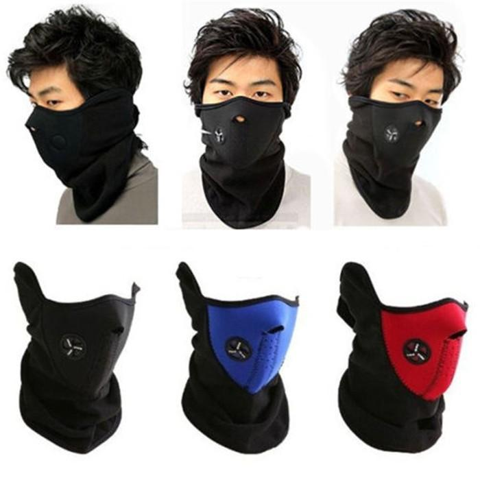 Neoprene Neck Warm Half Face Mask Winter Veil Windproof For Sport Bike  Bicycle Motorcycle Ski Snowboard Outdoor Mask Men Women DHL Motorcycle Body  Armour ... 627345a7c7