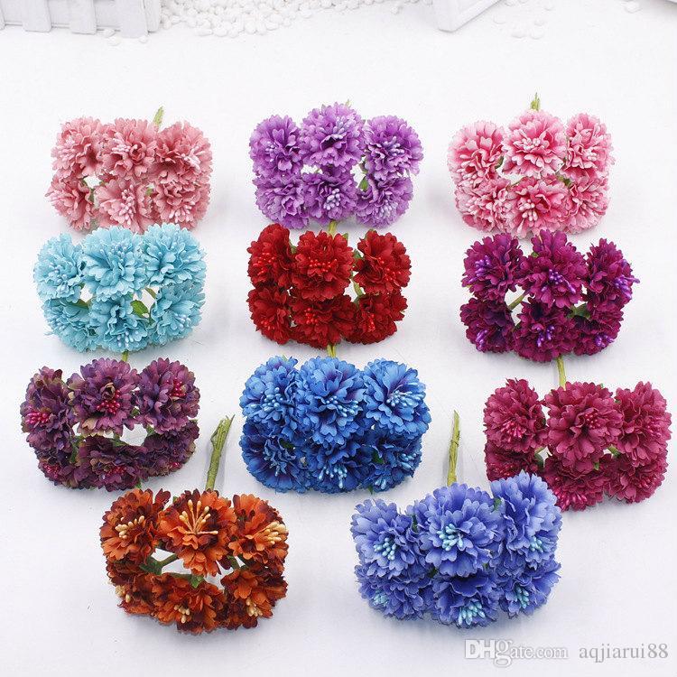 Online Cheap 2017 New 35cm Small Silk Scrapbooking Flowers