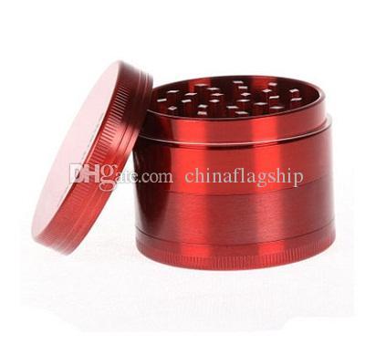 Sharp Sharp Stone 4 parti smerigliatrice erba metallo SharpStone Hard top smerigliatrici tabacco Diametro 40mm / 50mm / 55mm / 63mm / 75mm i grinder