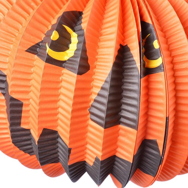 Hoomall decoração do partido do dia das bruxas animais papel de abóbora enfeites de suspensão hallowmas adereços para árvores bar diy acessórios